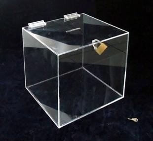 Donatorske-glasacke kutije od 3mm debelog klirita